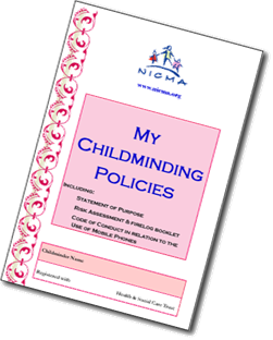 NICMA - My Childminding Policies