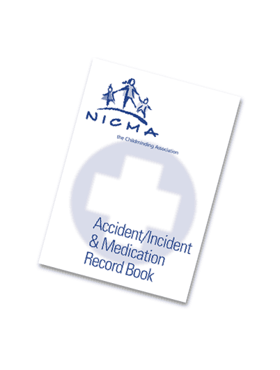 Accident Incident and Medication Record Book